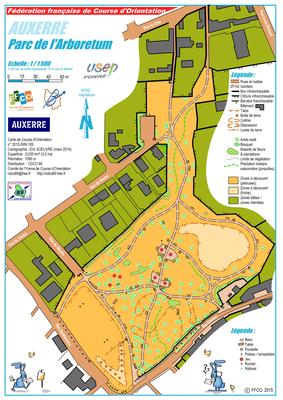 Auxerre parc de l 39 arboretum for Garage parc auto auxerre